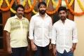 Anil Sunkara, Gopichand, Thiru @ AK Entertainments Production No 18 Movie Opening Stills