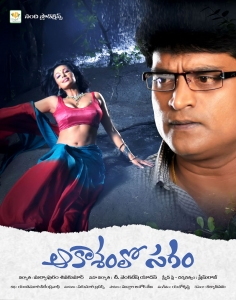 Asha Saini, Ravi Babu in Akasamlo Sagam Movie Wallpapers