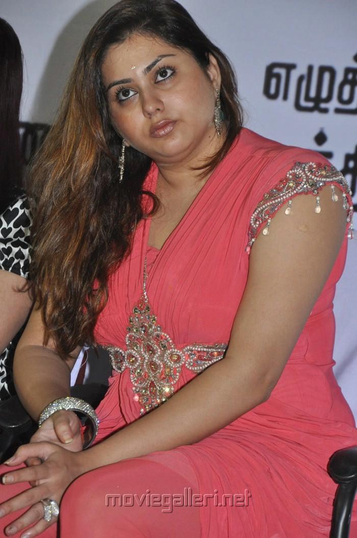 Actress Namitha at Akilan Audio Launch Stills