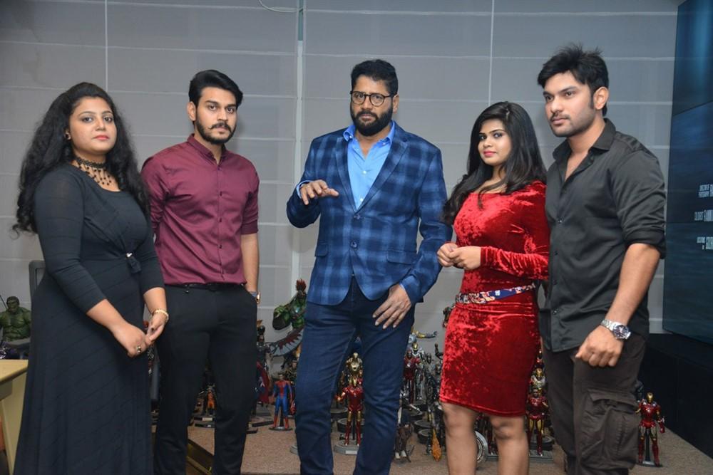 Akkadokaduntadu Movie Teaser Launch Stills