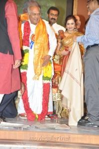 Meena at Akkineni Nageswara Rao 75 Years Platinum Jubilee Celebrations