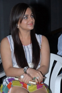 Actress Aksha New Hot Photos in White Dress