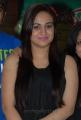 Aksha Pardasany in Black Dress at Rai Rai Success Meet