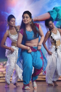 Actress Aksha Hot Dance Photos @ Varna Audio Launch
