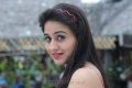 Actress Aksha Stills in Red Dress from Shatruvu Movie
