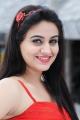 Actress Aksha Pardasany Stills in Red Dress from Shatruvu