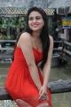 Shatruvu Movie Actress Aksha Hot Stills in Red Dress