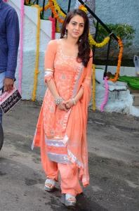 Actress Aksha Stills at Kathi Lanti Kurradu Opening