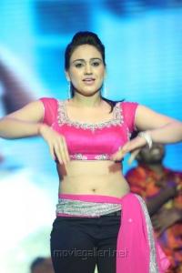 Aksha Pardasany Dance Hot Stills @ Aadu Magaadra Bujji Audio Launch