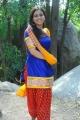 Actress Aksha Hot Photos in Blue Churidar Yellow Dupatta