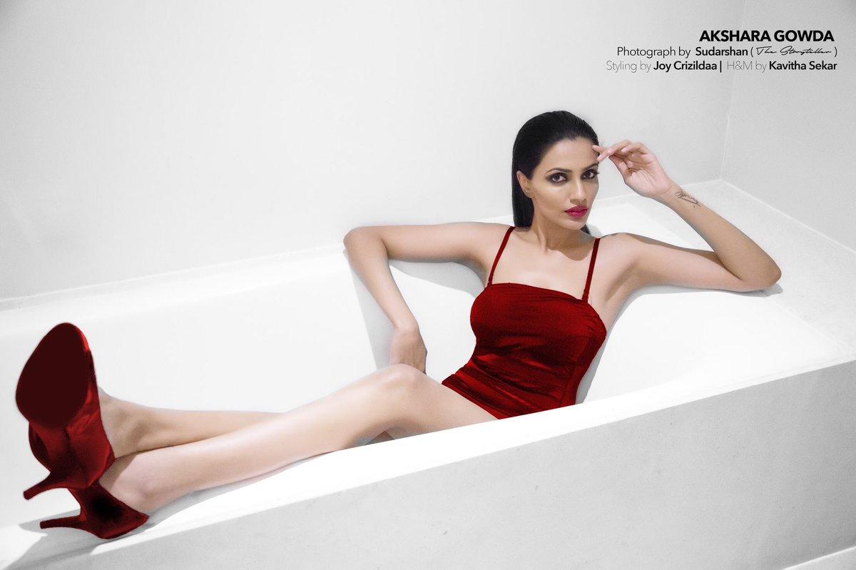 Actress Akshara Gowda New Hot Photoshoot Pics