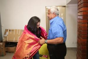 Actress Akshara Hassan visits Knack Studios Chennai Photos