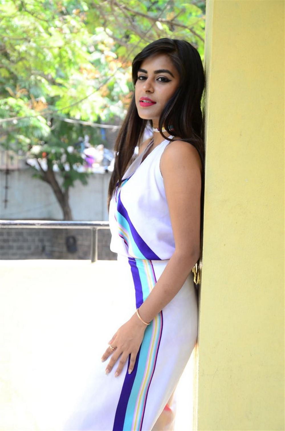 Actress Akshatha Madhav Photos @ KS 100 Movie Audio Launch