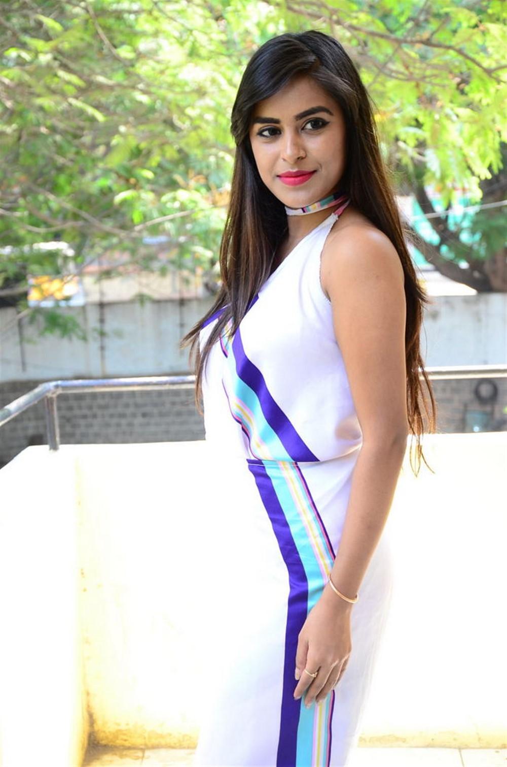 Actress Akshatha Madhav Photos @ KS 100 Audio Release Function