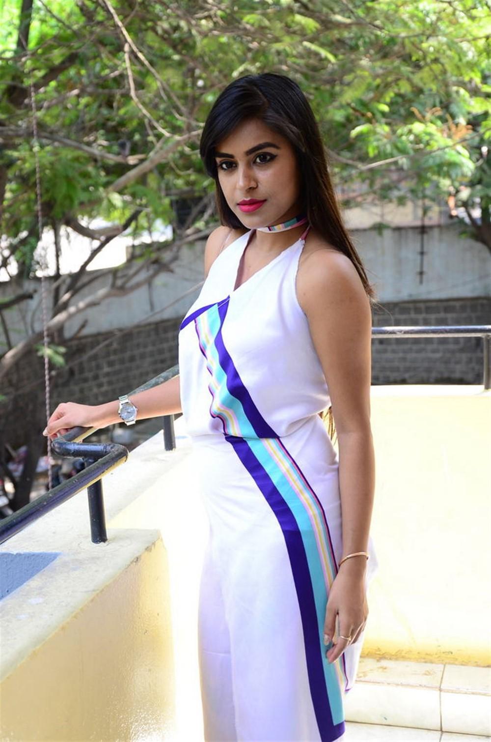 Actress Akshatha Madhav Photos @ KS 100 Movie Audio Release