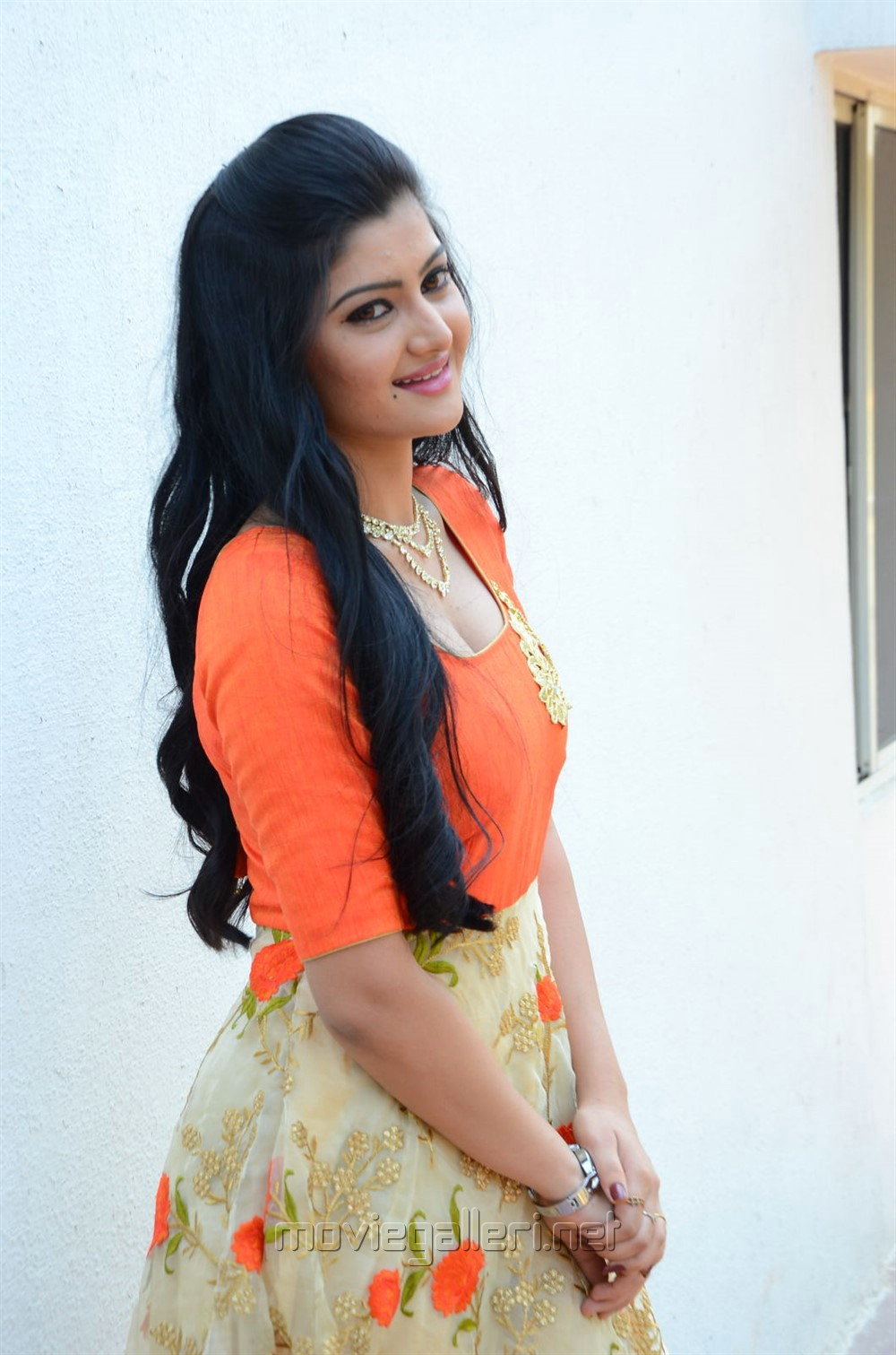 Actress Akshita Photos @ Prasnista Movie Opening