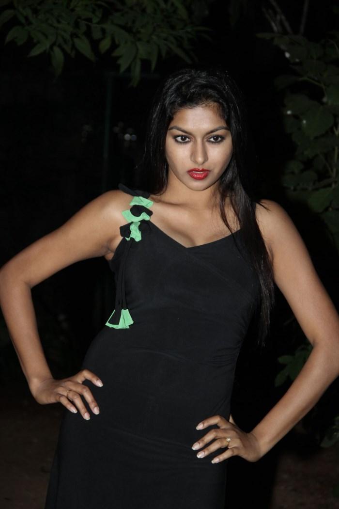 Actress Akshitha Hot Stills at Tanu Monne Vellipoyindi Audio Release
