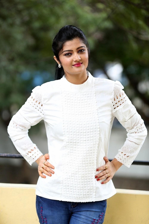 Actress Akshitha Photos @ Prementha Panichese Narayana Trailer Launch
