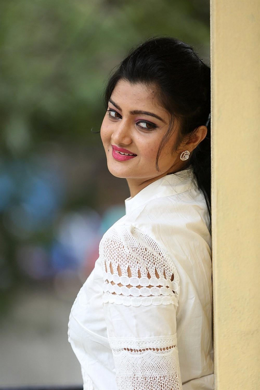 Telugu Actress Akshitha Photos @ Prementha Panichese Narayana Trailer Launch