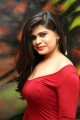 Actress Alekya Angel Red Dress Hot Photos