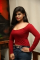 Actress Alekhya Angel Hot Photos in Red Dress