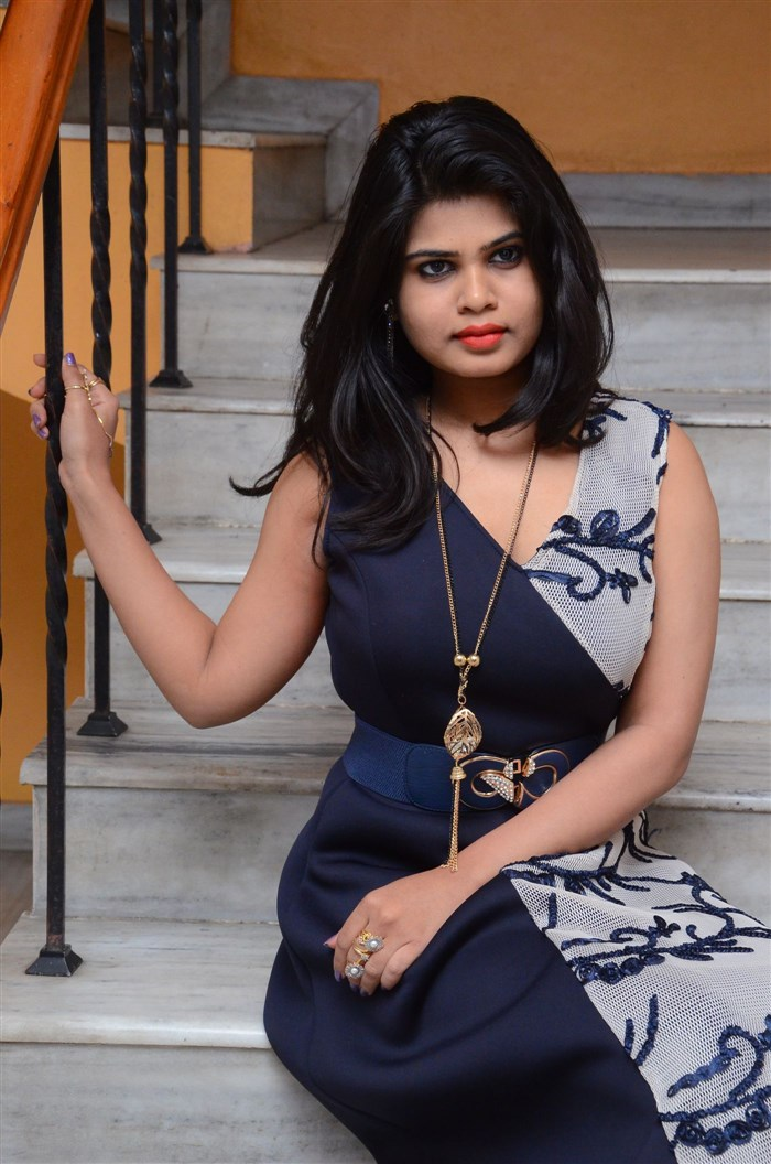 Heroine Alekhya Photos at Plus One Audio Release