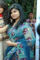 Alekya Hot in Transparent Saree Images at Aa Aiduguru Opening