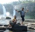 Anushka, Karthi in Alex Pandian Movie Stills