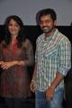 Anushka, Karthi at Alex Pandian Press Show Stills