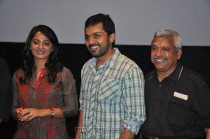 Anushka, Karthi, Kalyanam at Alex Pandian Press Show Stills