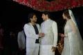 Actor Allu Arjun @ Arya Sayesha Marriage Sangeet Ceremony Photos HD