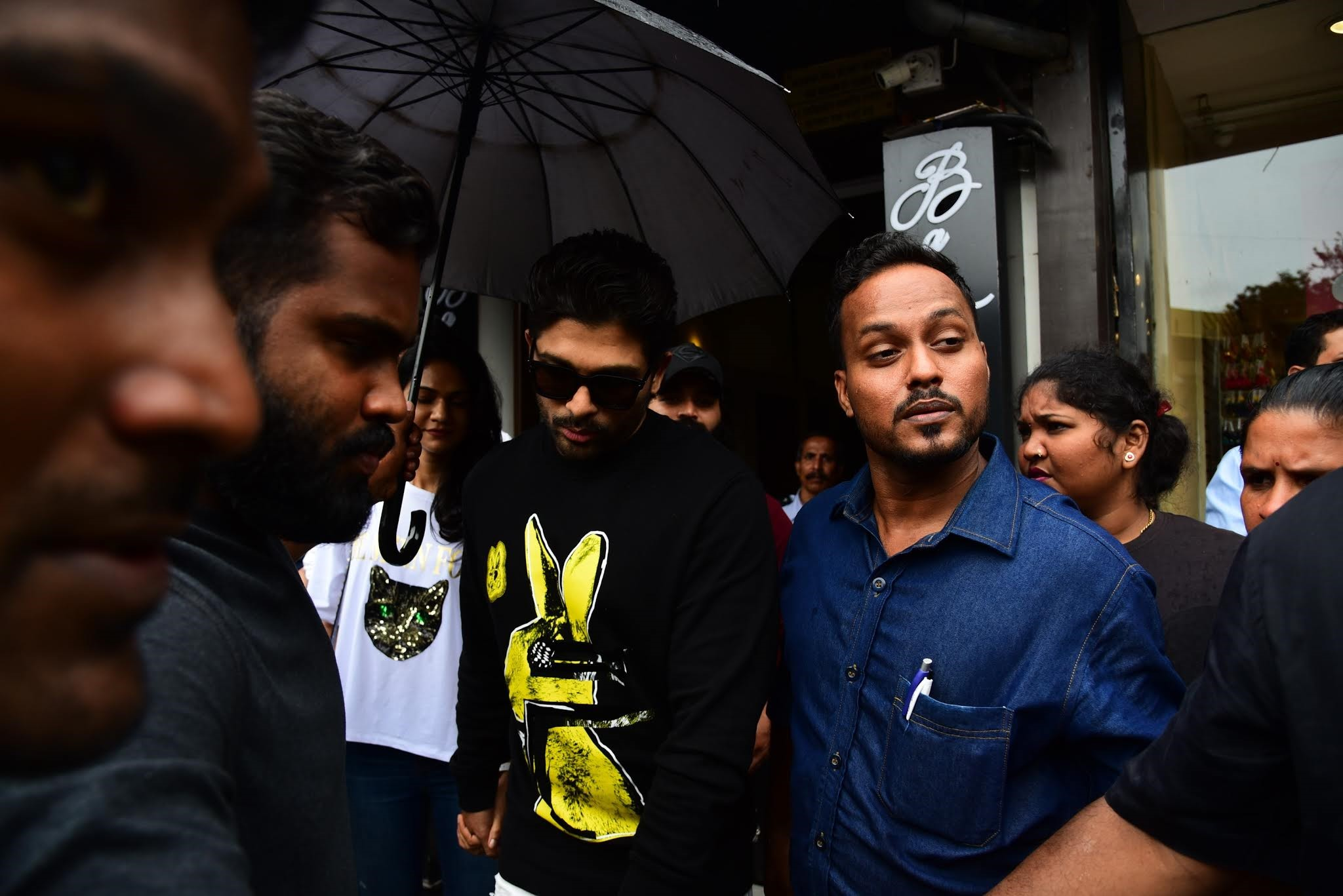 Actor Allu Arjun @ Bastian Bandra Photos