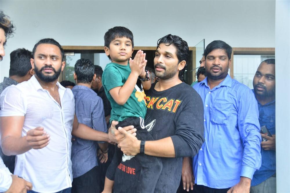 Allu Arjun 2019 Birthday Celebrations Stills