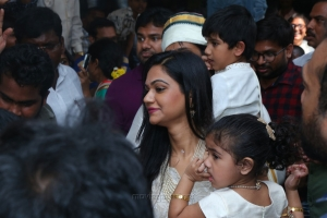 Allu Arjun, Sneha Reddy celebrates Sankranti Festival at Palakollu Photos