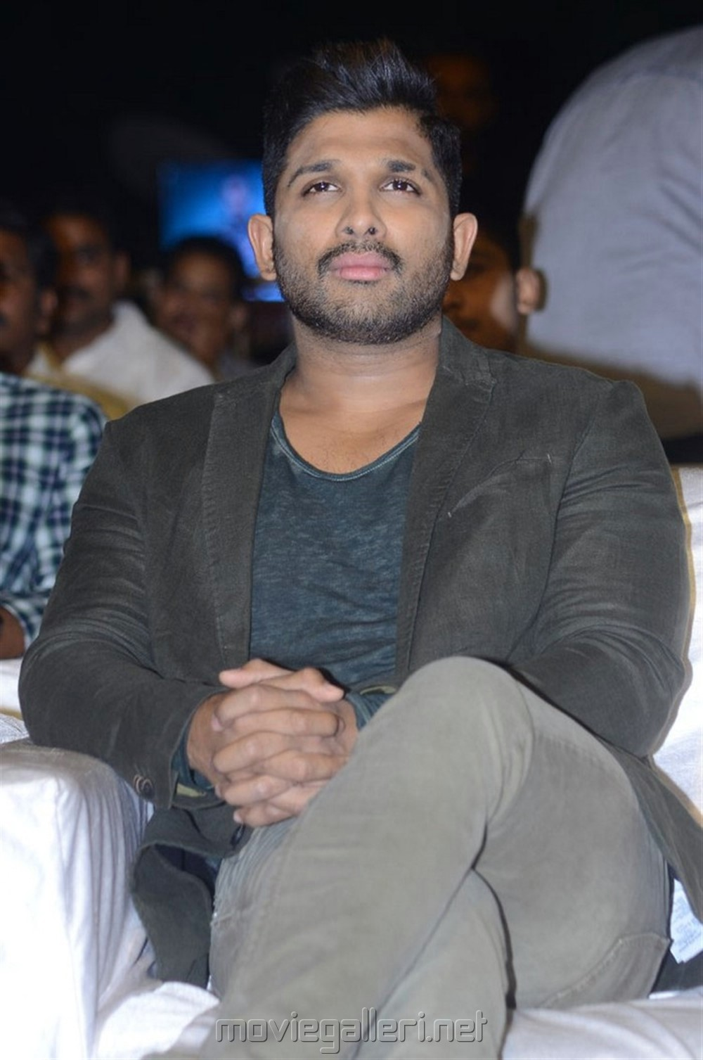 Actor Allu Arjun Images @ Naa Peru Surya Thanks Meet