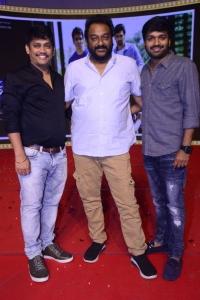 Santosh Srinivas, VV Vinayak, Anil Ravipudi @ Alludu Adhurs Movie Pre Release Event Stills