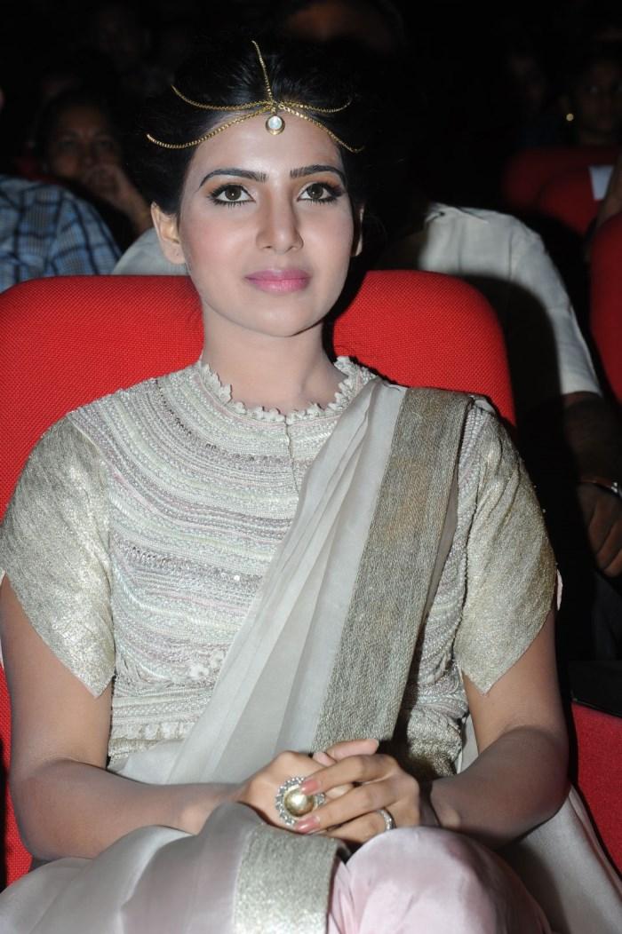 Samantha @ Alludu Seenu Audio Release Function Photos
