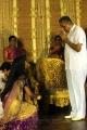 AVM Saravanan at ALS Nachiappan Son Wedding Reception Photos