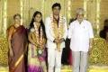 Editor Mohan at ALS Nachiappan Son Wedding Reception Photos