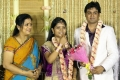 Poornima at ALS Nachiappan Son Wedding Reception Photos