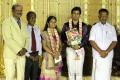 O Panneerselvam at ALS Nachiappan Son Wedding Reception Photos
