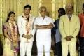 Abirami Ramanathan at ALS Nachiappan Son Wedding Reception Photos