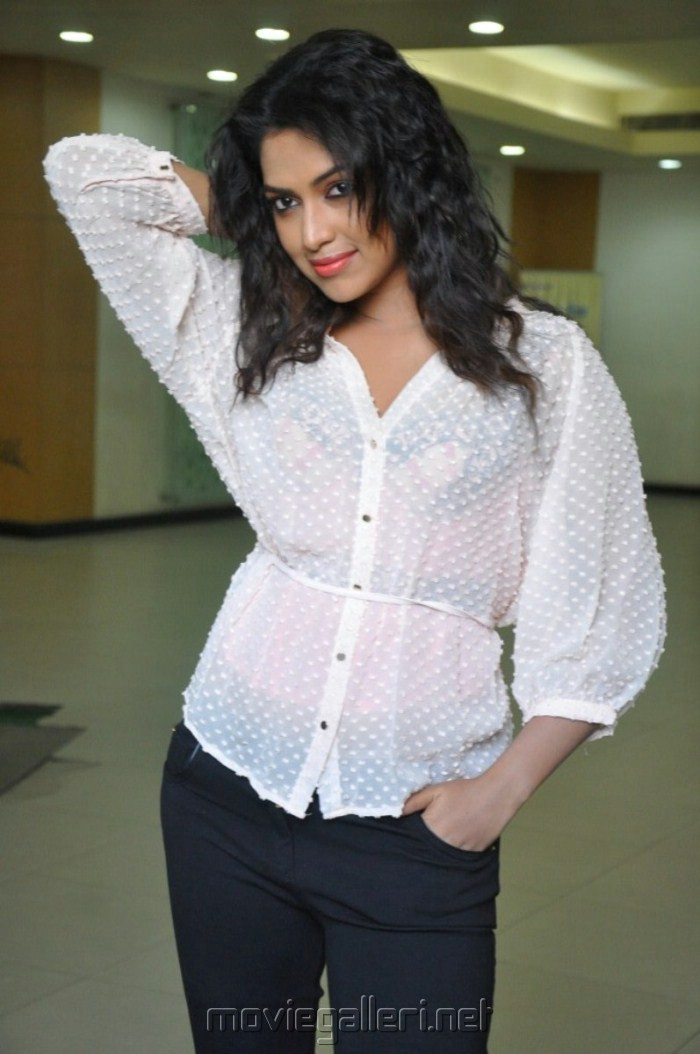 Picture 379792 | Hot Amala Paul Stills in White Shirt and Black ...