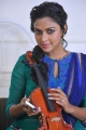Tamil Actress Amala Paul Cute Pictures in Blue Churidar
