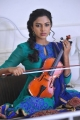 Acterss Amala Paul Playing Violin Cute Pictures