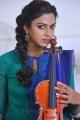 Actress Amala Paul Cute Pictures in Blue Churidar