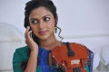 Amala Paul Cute Pictures in Blue Churidar with Violin