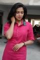 Amala Paul New Cute Stills in Pink Kurta Dress