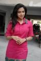 Amala Paul New Cute Stills in Pink Cotton Kurta Dress