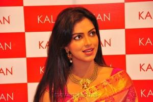 Actress Amala Paul Gorgeous Look in Pure Kancheepuram Silk Saree
